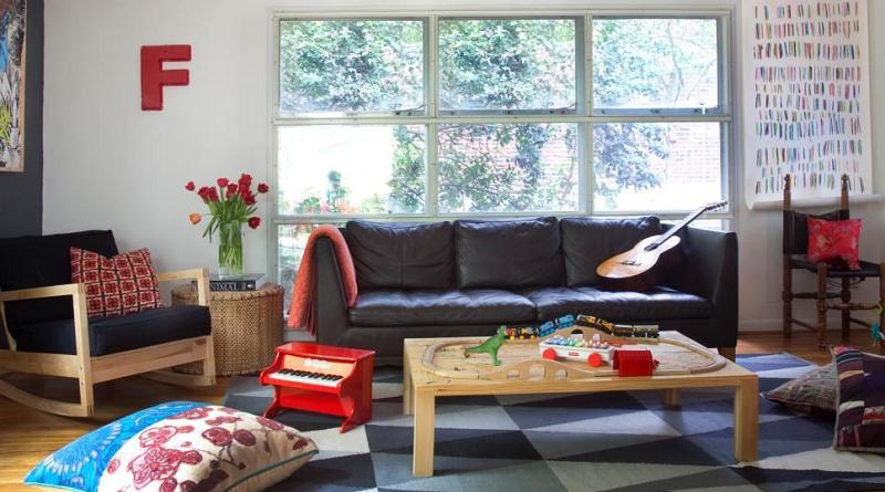 model ruang keluarga